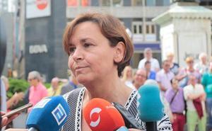 Carmen Moriyón, sobre el plan de vías: «Nos reservamos las medidas necesarias para defender lo que le corresponde a Gijón»