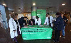 Campaña de recogida de firmas para aumentar el número de enfermeras en la sanidad pública