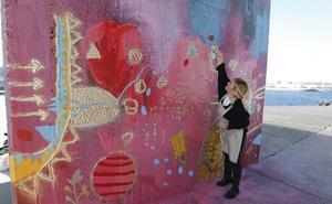 Arte urbano para ver con los dedos en Gijón
