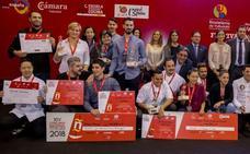 Luis Antonio Carcas, de Zaragoza, y Shuyun Chen, de Nueva Zelanda, campeones de Tapas 2018