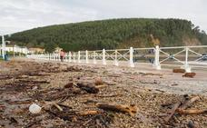 Asturias registra rachas de viento de hasta 135 kilómetros por hora