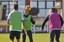 Entrenamiento del Sporting (07/11/18)