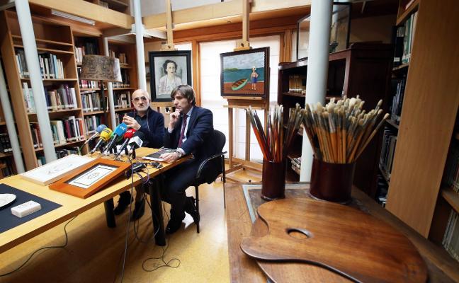 «Queda una firma para que el legado de mi padre salga de Asturias y no vuelva»