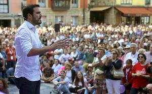La candidatura a las europeas reaviva el pulso entre IU de Asturias y Garzón