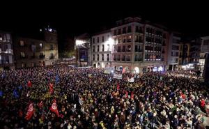 Multitudinaria e histórica manifestación en Avilés contra el cierre de Alcoa