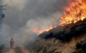 «Estamos dejando escapar a los incendiarios», avisan los guardias del Medio Natural