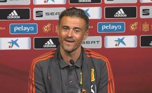 Luis Enrique: «Me gustaría parecerme a Jordi Alba, pero soy más alto»