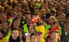 Las impresionantes imágenes de la manifestación de Alcoa en Avilés