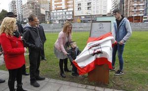 Una placa en El Humedal para recordar a Alejandro Mieres