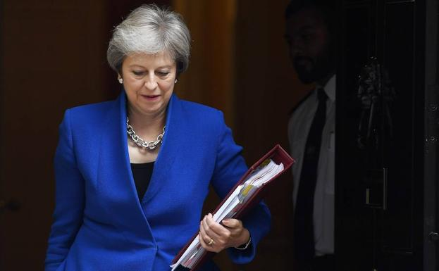 Theresa May comparece en el Parlamento. /Andy Rain (Efe)