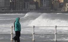 Nueva alerta por vientos de hasta 110 kilómetros por hora en Asturias
