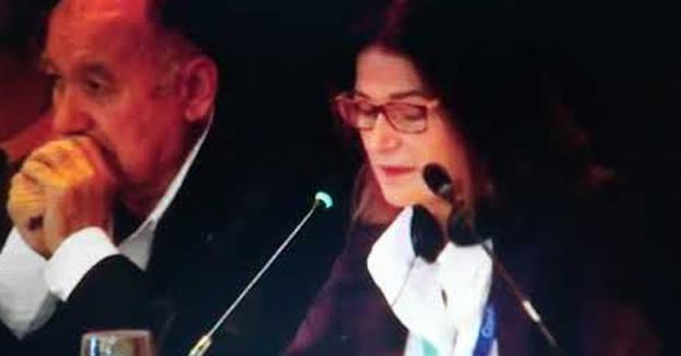 Julia Casanueva, presidenta de la Federación Española de Vela, se marca un Ana Botella