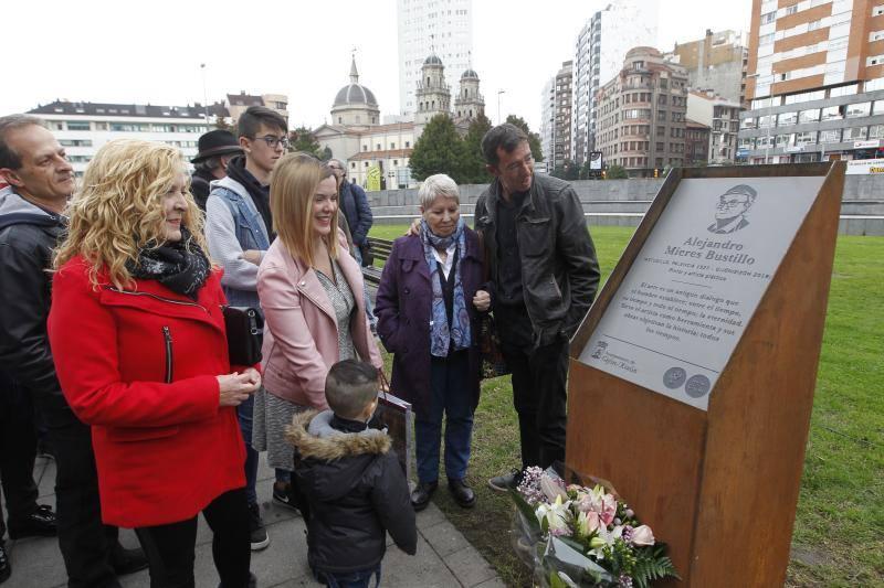 Alejandro Mieres, homenajeado en Gijón