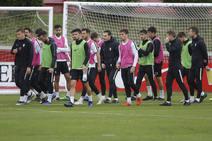 Entrenamiento del Sporting en Mareo (08-11)