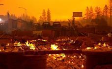 Un incendio en California deja cinco muertos