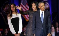 Michelle Obama revela que recurrió a la fecundación 'in vitro' para tener a sus hijas
