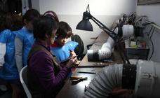 Pequeños expertos en azabache en Villaviciosa