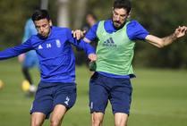 Entrenamiento del Real Oviedo (09/11/2018)