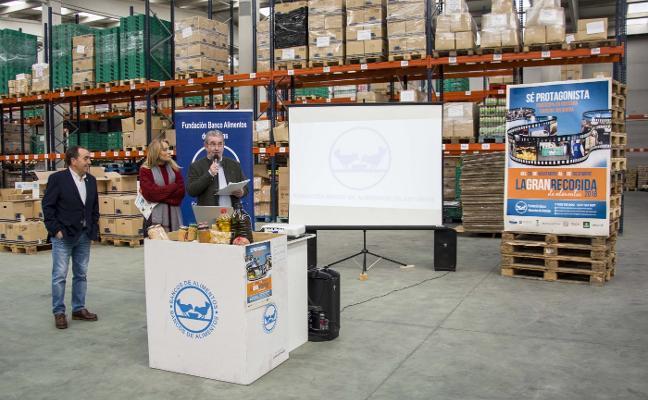 1.400 voluntarios, a por 200.000 kilos de alimentos en la Gran Recogida 2018