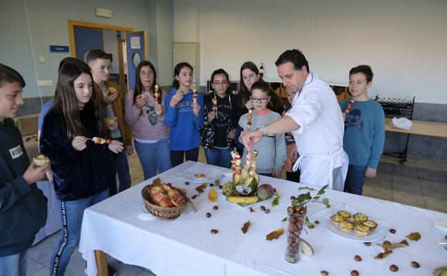 Creatividad en la cocina para sustituir las 'chuches' por fruta