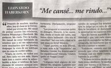 La desoladora carta de renuncia de un profesor: «Me cansé de pelear contra los móviles, contra WhatsApp y Facebook. Me ganaron»