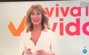 Twitter: críticas al estreno de Emma García como presentadora de 'Viva la Vida'