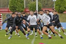Entrenamiento del Sporting (10/11)