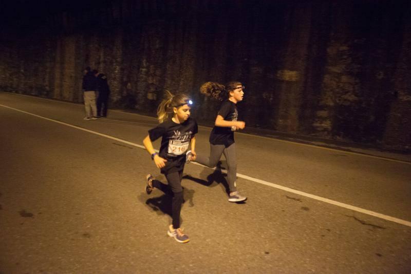 10 kilométros de carrera entre Arnao y Salinas