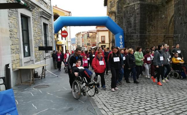 Salas recauda 2.075 euros en su carrera a favor del Aspace