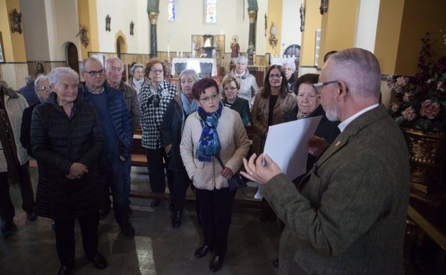 El Arzobispado y los vecinos se unen para restaurar el cementerio de Trasona
