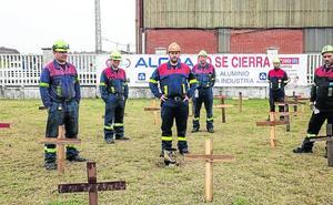 La plantilla de Alcoa en Avilés, a pleno rendimiento a pesar de la cuenta atrás