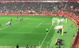 Así ha sido el polémico penalti y el primer gol del Málaga