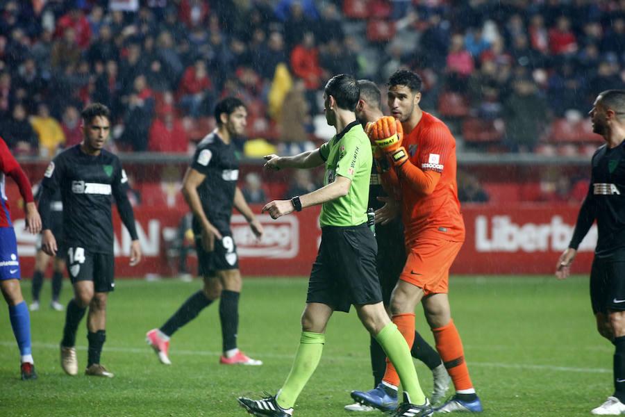 Sporting 2-2 Málaga, en imágenes