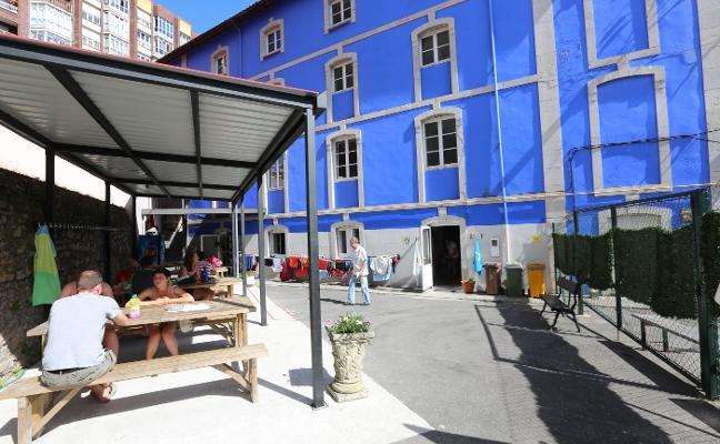El albergue recupera las cifras anteriores a la apertura del de Castrillón con 5.600 peregrinos