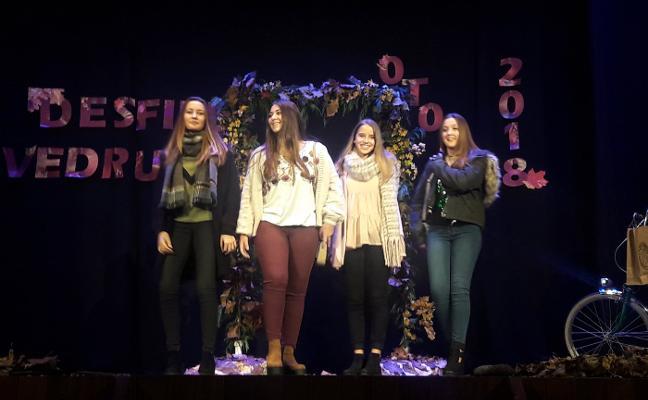 Desfile de moda del Colegio San Rafael en el Riera