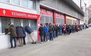 El Sporting pone a la venta este martes las entradas para el derbi