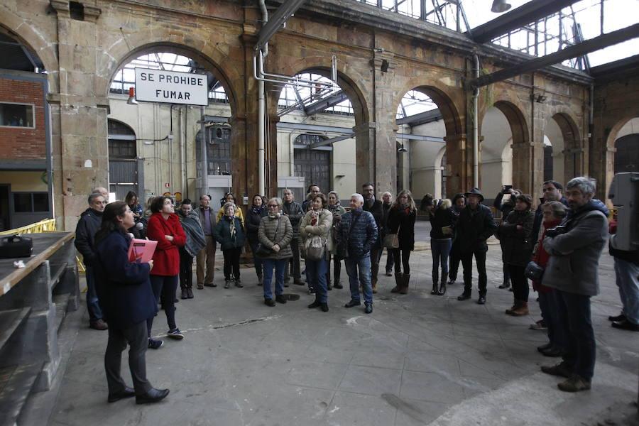 En el interior de la fábrica de armas de La Vega, en Oviedo