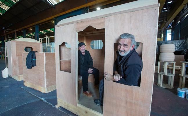 El Tomás y Valiente se sube al tren de la Navidad