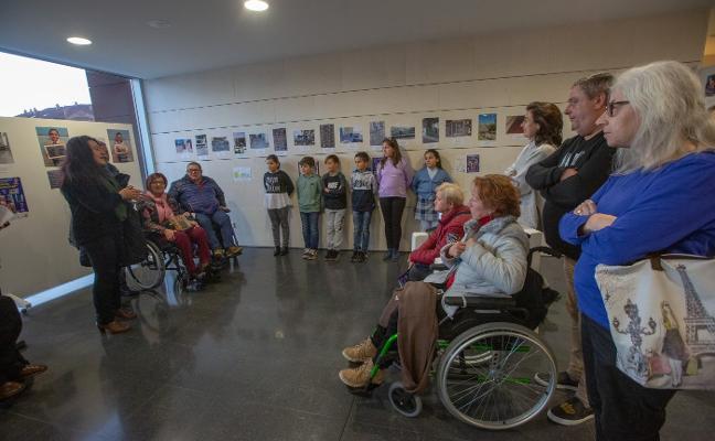 Los alumnos retratan la discapacidad