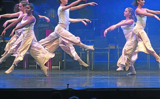 Danza y música para celebrar Santa Cecilia en el Conservatorio