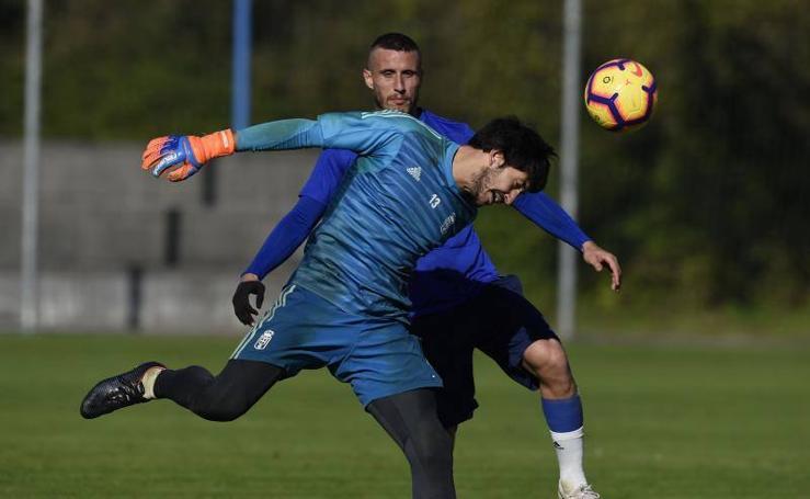 Entrenamiento del Real Oviedo (13-11-2018)