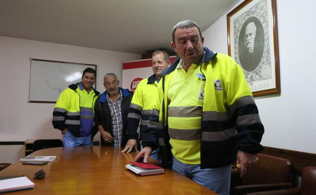 Los trabajadores de Urbaser en Siero suman tres años sin convenio colectivo