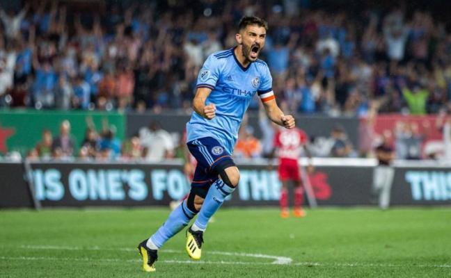 Villa finaliza su contrato con New York City y sopesa colgar las botas