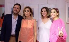 Carmen Figaredo estrena exposición en la tienda de Ágatha Ruiz de la Prada