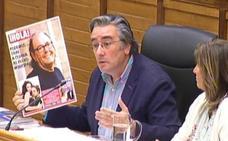 Polémica en el Pleno de Gijón con revistas del corazón por medio