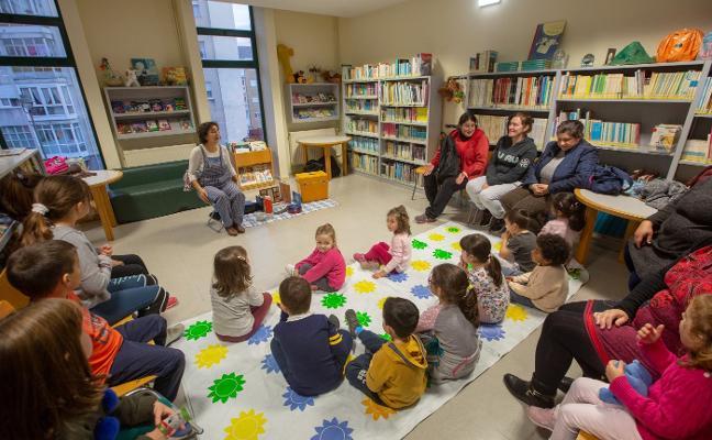 Pic-nic literario en la biblioteca de La Luz