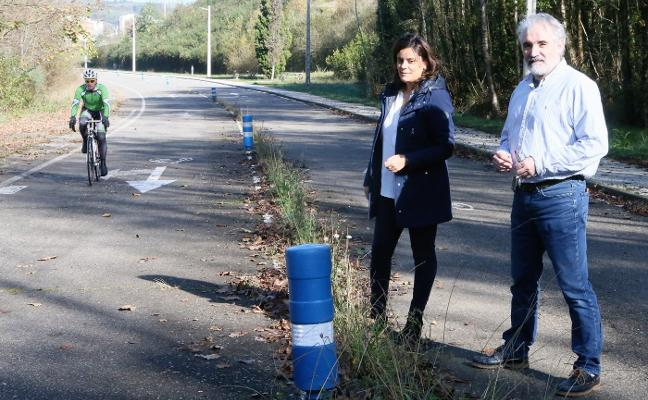 El PP de Siero denuncia el estado de abandono del circuito ciclista Chechu Rubiera