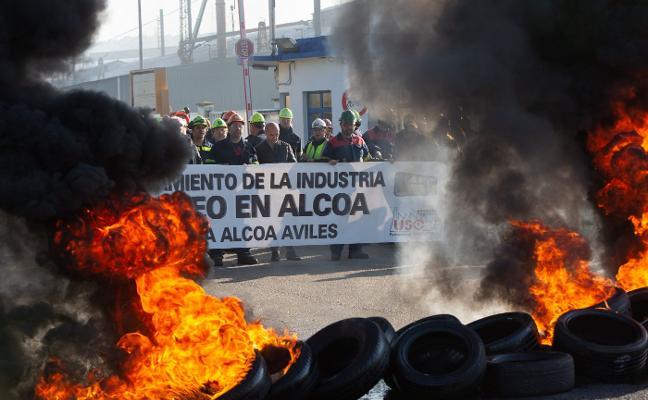 Los trabajadores de Alcoa llevarán «la lucha hasta el último término»