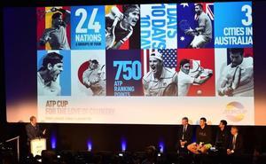 La ATP Cup sale a la luz con el apoyo de Djokovic