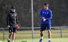 Entrenamiento del Real Oviedo (15-11-2018)